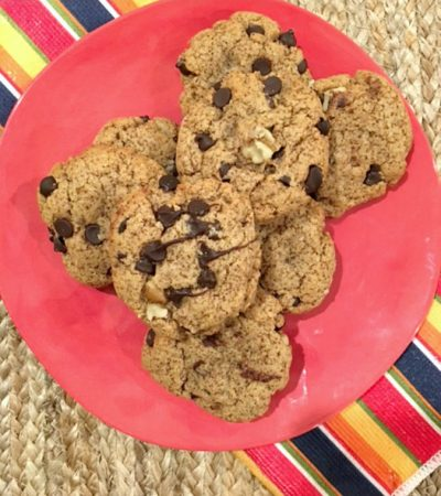 Delicious Chocolate Chip Protein Cookies