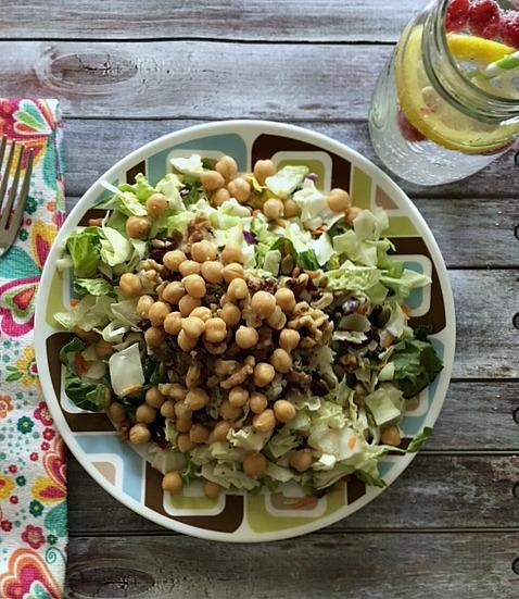 Healthy Hempseed Chickpea Salad
