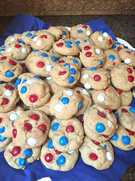 Patriotic Butter Cookies
