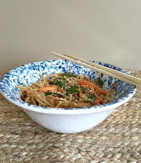 Stir Fry Sesame Noodles
