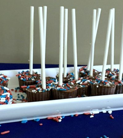 Mini Patriotic Pudding Pops