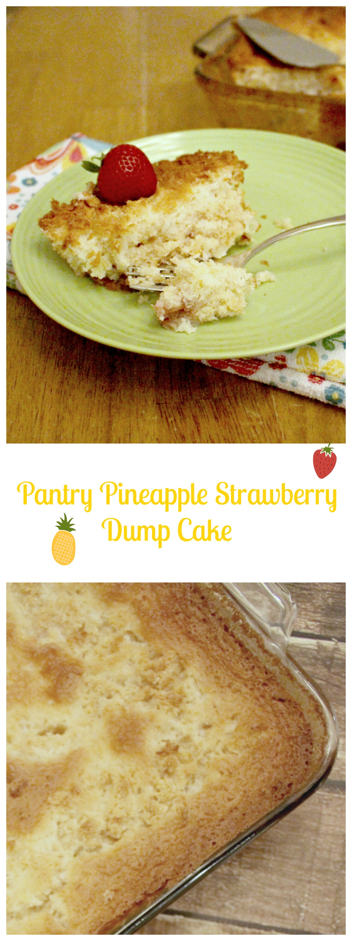 pineapple dump cake pantry pineapple strawberry dump cake daily 6541