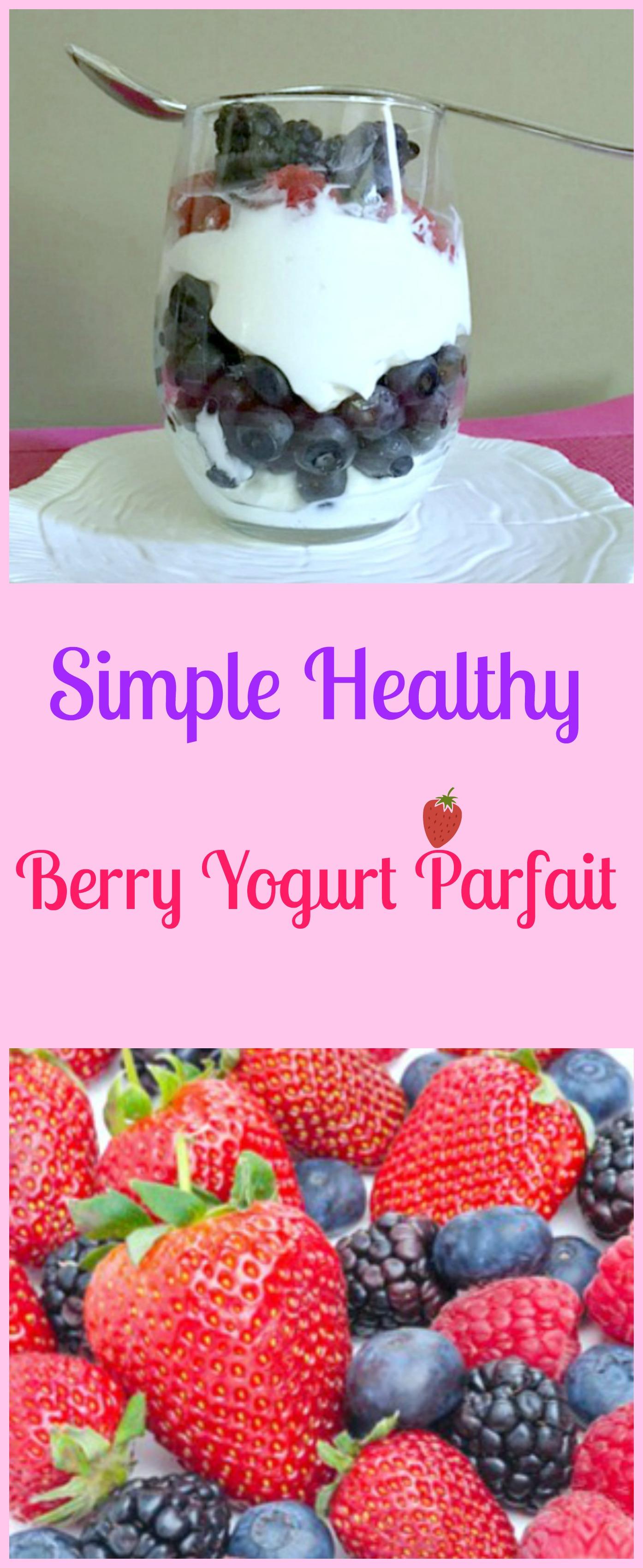 how to make a healthy yogurt parfait