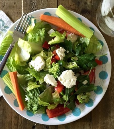 Simple Restaurant Style Greek Salad