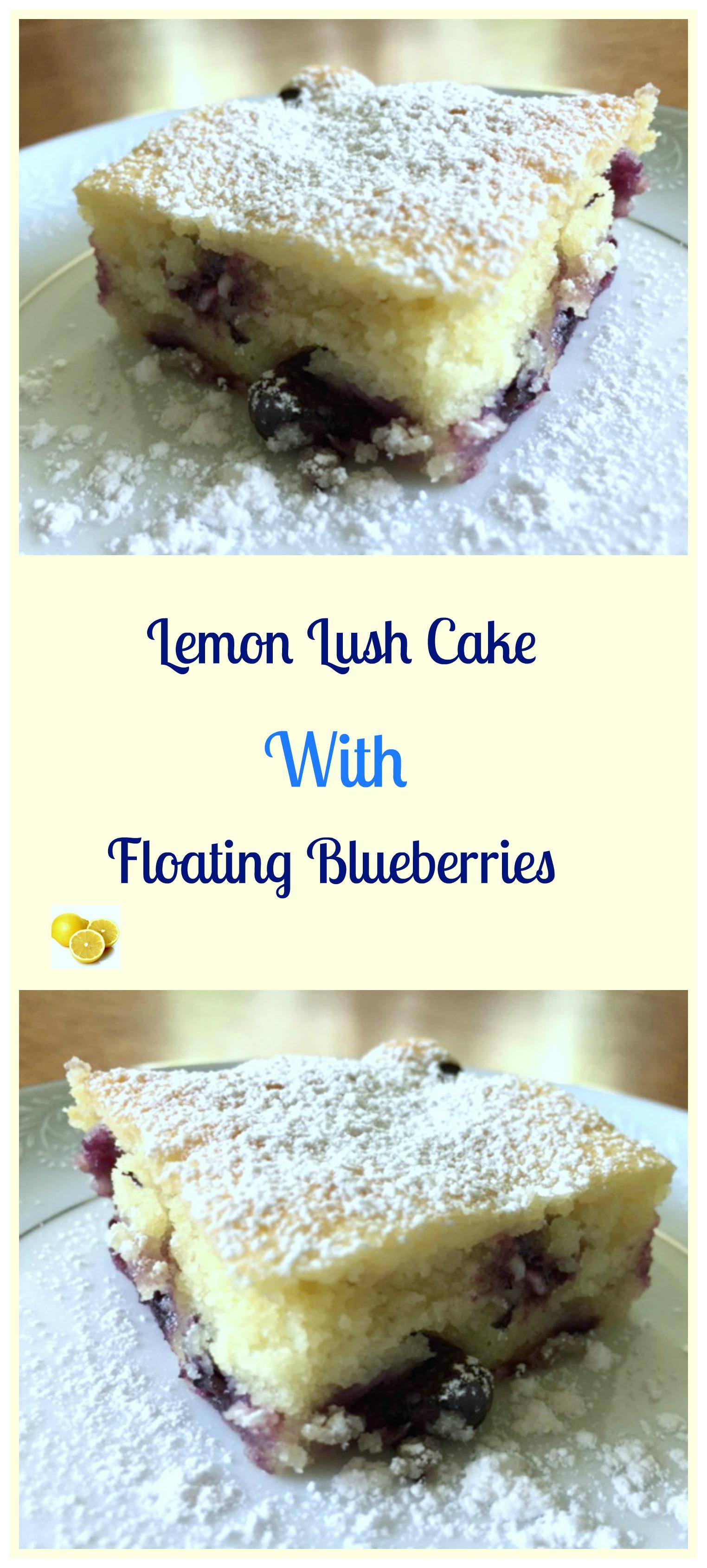 Lemon Cake Mix Muffins Blueberries