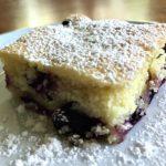Regina's Lemon Lush Blueberry Cake