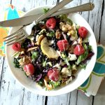 Walnut Raspberry Detox Salad