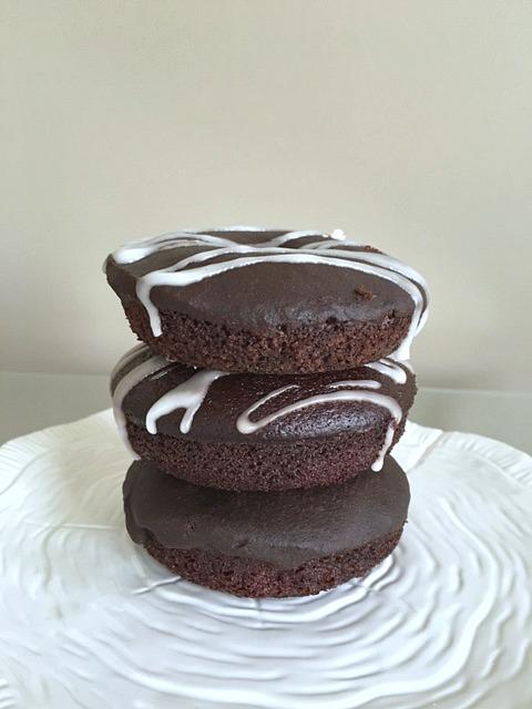 3 Wacky Chocolate Donuts