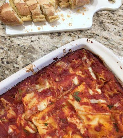 Extra Easy Baked Lasagna
