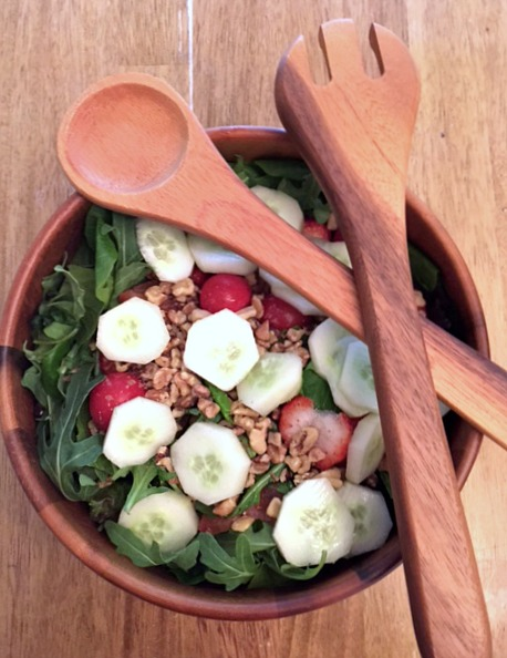 Spa Strawberry Salad
