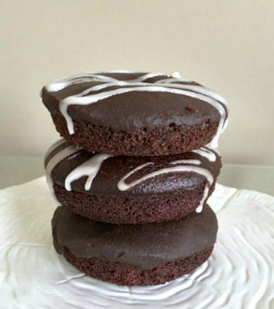Wacky Chocolate Baked Donuts