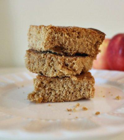 Simple Apple Almond Snack Cake