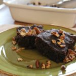 Deep Dish Pecan Cocoa Brownies