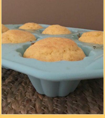 One Bowl Sour Cream Corn Muffins