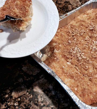 Grandma Ruthie's Famous Noodle Kugel/Pudding