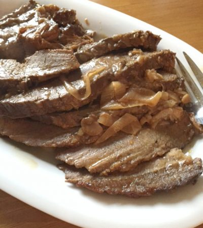 Easiest Melt In Your Mouth Onion Soup Mix Brisket