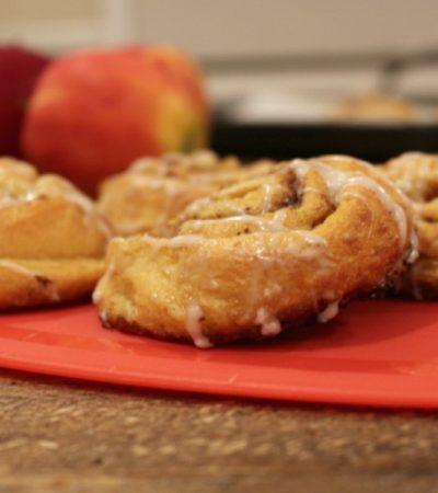Simple Apple Pie Cinnamon Rolls