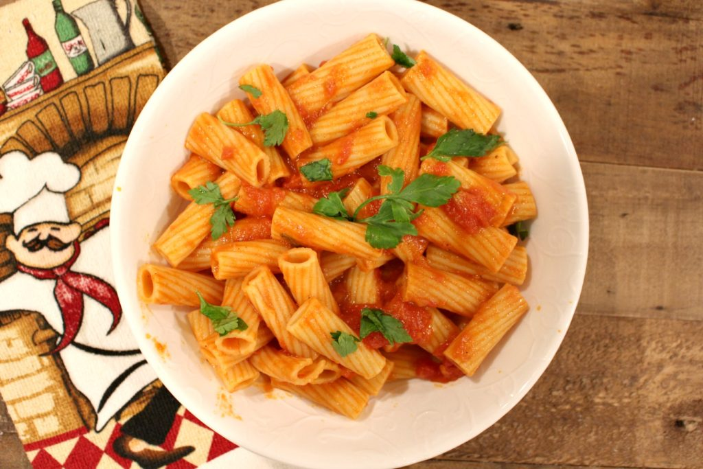 simple-rigatoni-with-light-tomato-sauce