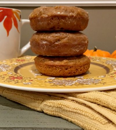 Small Batch Baked Pumpkin Donuts