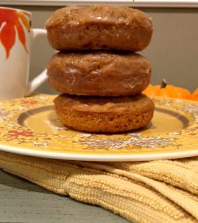 Small Batch Baked Pumpkin Donuts