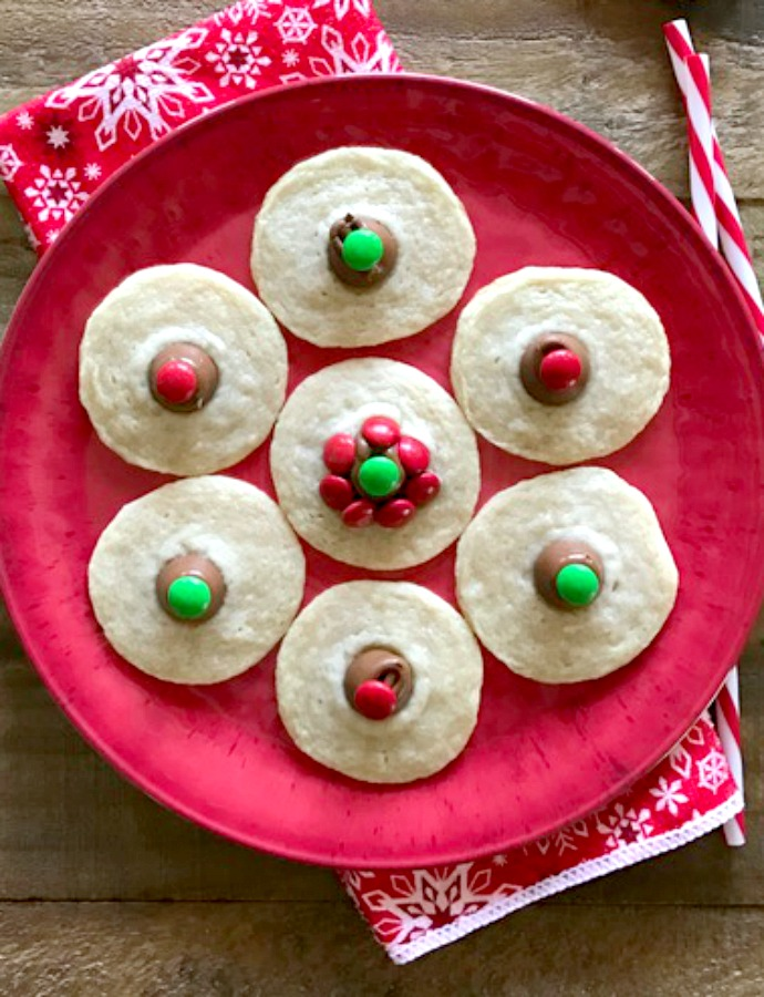 3 Ingredient Christmas Cookies