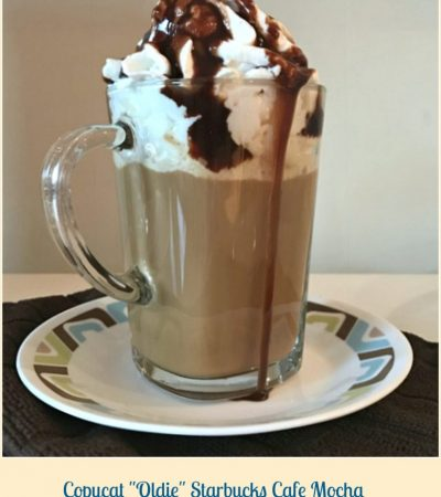 "Copycat ""Oldie"" Starbucks Café Mocha"
