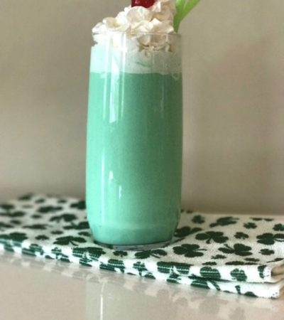 Copycat McDonald's Shamrock Shake – The Guilt Free Way!
