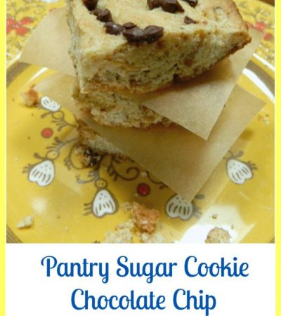 Pantry Sugar Cookie Chocolate Chip Butterscotch Bars