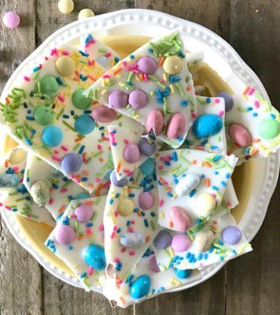 White Chocolate Easter Bunny Bark