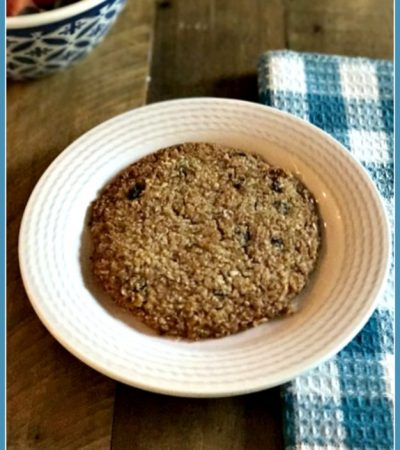 Giant Grab & Go Paleo Breakfast Cookies