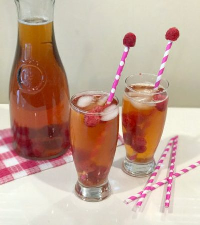 Southern Honey Raspberry Iced Tea