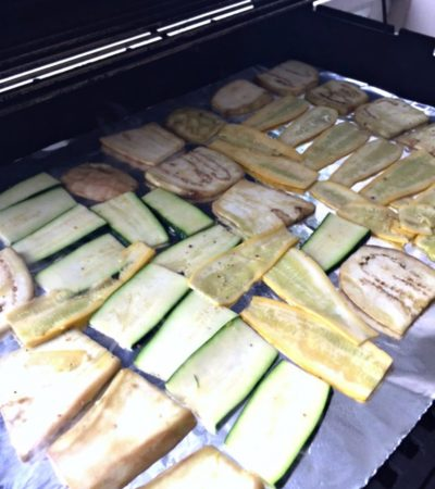 Simple Way To Grill Thinly Sliced Veggies