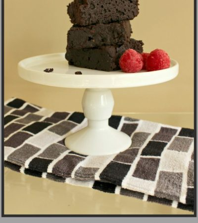 Fudgy Dark Chocolate Dutch Brownies