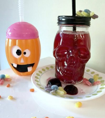 Small Batch Fruity Halloween Punch