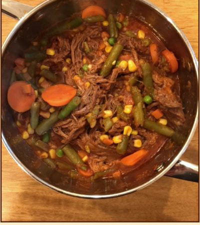 Balsamic Beef Pot Roast with Veggies