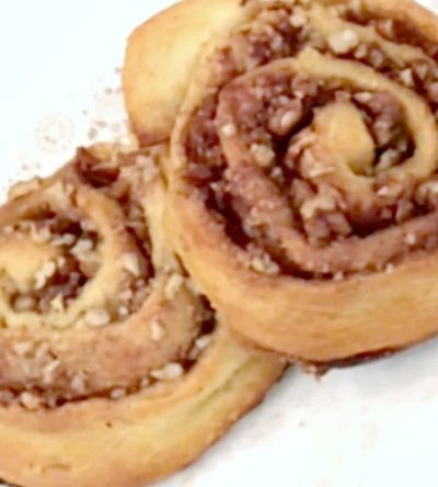 Bakery Style Pecan Cinnamon Rolls – Made with Crescent Rolls