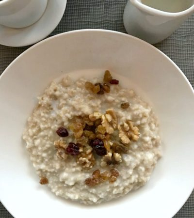 Hearty Simple Recipe for Steel Cut Oats