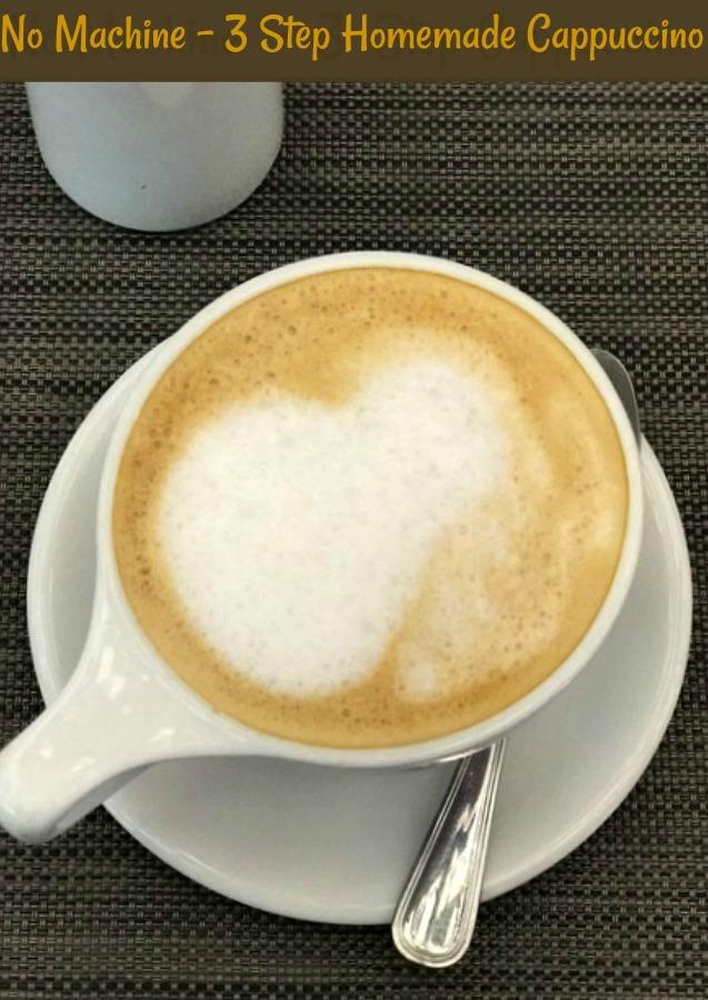 sweet cappuccino recipe