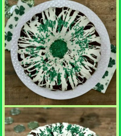 Super Easy St. Patrick's Day Chocolate Stout Bundt Cake