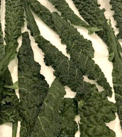Baked Parmesan Tuscan Kale Chips