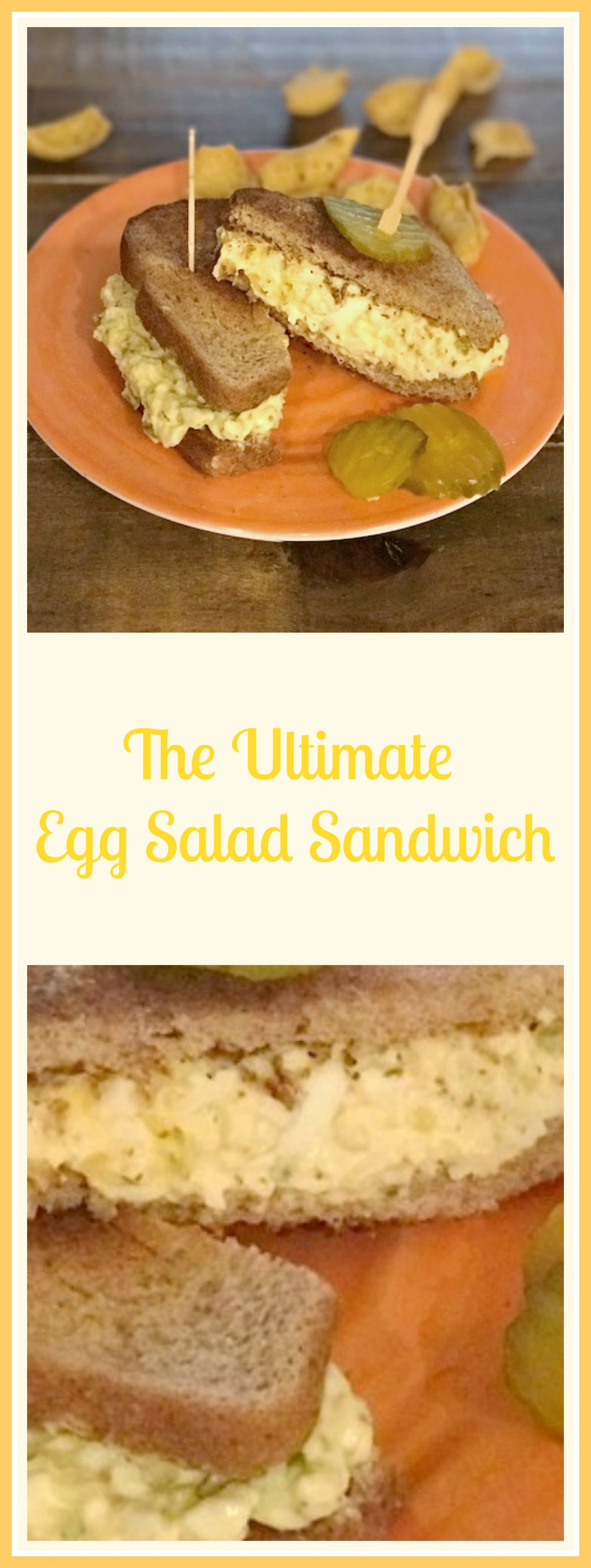 how to make egg salad sandwich with mayo