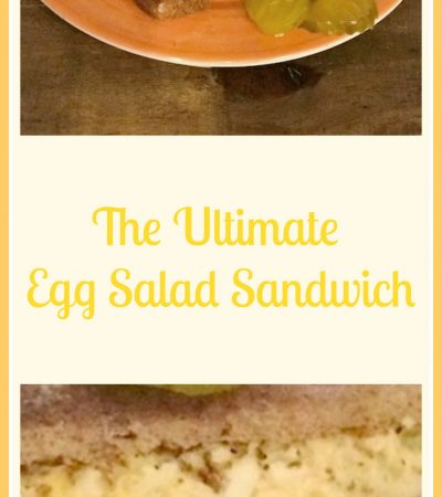 The Ultimate Egg Salad Sandwich