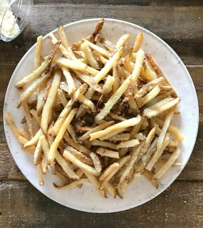 Baked Parmesan French Fries