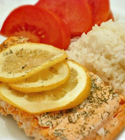 Simple Baked Salmon Fillet