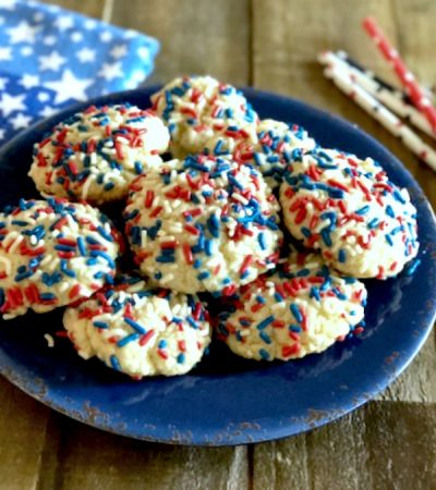 Bisquick Patriotic Pudding Cookies