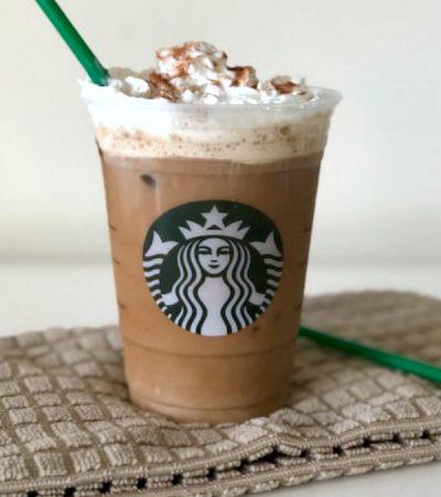 Copycat Starbucks Chilled Cinnamon Dolce Latte