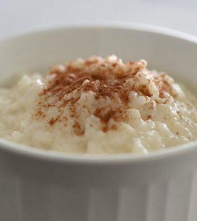 Creamy Dreamy Rice Pudding