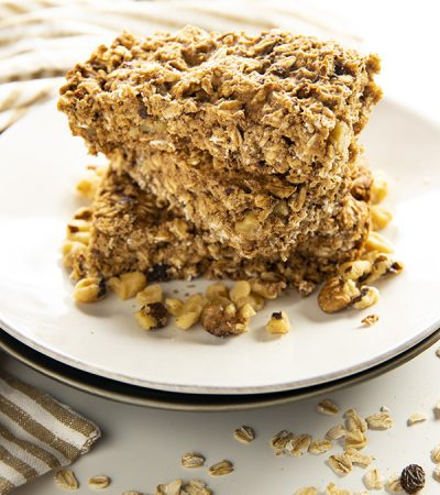 Homemade Soft and Chewy Granola Bars
