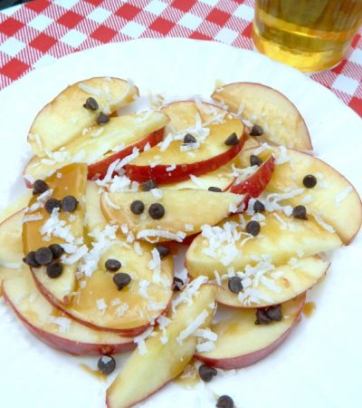 Quick and Easy Apple Nachos