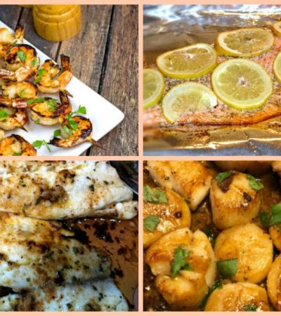 7 Seafood Recipes–Simple for Weeknight Meals and Lovely for Company Too